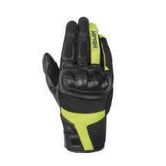 Guantes de Moto Hevik Abrego Negro Amarillo-Fluo