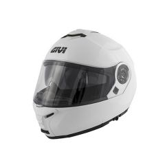 Helm Modular Geöffnet Givi X.20 Expedition Solid Color Glanzend Weiß
