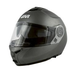 Casque Modulaire Ouvrable Givi X.20 Expedition Solid Color Titane Mat