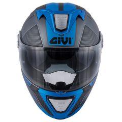 Casque Modulaire Ouvrable Givi X.23 Sydney Protect Titane Mat Noir Bleu