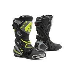 Motorradstiefel Racing Forma Ice Pro Schwarz Grau Fluo-Gelb