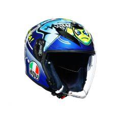 Helm Jet Agv K-5 Rossi Misano 2015