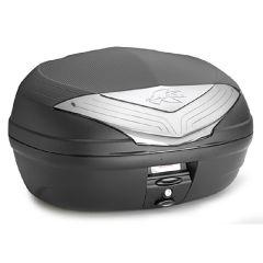 K466NT - Kappa MONOLOCK Top-case 46 ltr. black with smoked reflectors