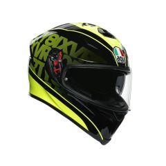 Helmet Full-Face Agv K-5 S Fast 46 Black Yellow