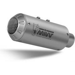 K.050.SM3X - Exhaust Muffler MIVV MK3 Stainless Steel KAWASAKI ZX-6 R 636 (19-)