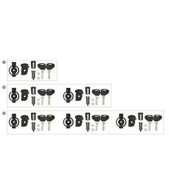 KSL101 - Kappa Security Lock Schlüssel-Set, inkl. Schließzylinder