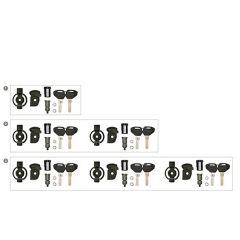KSL102 - Kappa 2 Kit Security Lock Schlüssel-Set, inkl. Schließzylinder