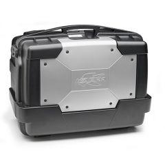 KGR46 - Kappa Valise MONOKEY® 46 litres capot externe en couleur aluminium