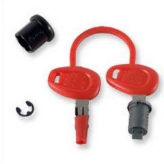 Z140R - Givi Barillet avec bague et clé pour serrure de valise et top case