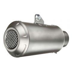 9746 - Exhaust Muffler LeoVince LV-10 Stainless Steel Ø 54 Universal