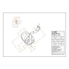 0230 - Silencieux Leovince Sito 2 Temps VESPA PK 50 - XL - RUSH - N - FL2 - HP