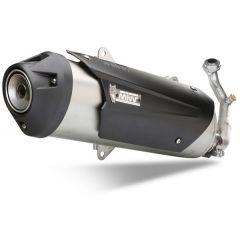 C.PG.0019.B - Full Exhaust Mivv URBAN S. Steel PIAGGIO BEVERLY 125 (2014 >)