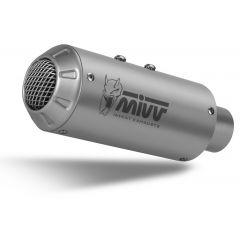 D.030.SM3X - Silencieux Echappement Mivv MK3 Inox DUCATI MONSTER 821 / 1200