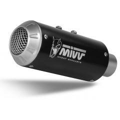 D.041.SM3B - Exhaust Muffler Mivv MK3 BLACK DUCATI MONSTER 821 / 1200