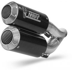 D.042.SM3C - Exhaust Mufflers Mivv MK3 Carbon DUCATI MONSTER 821 / 1200