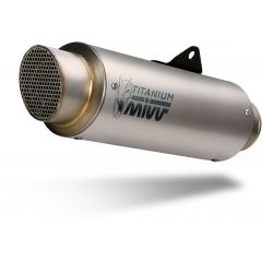 K.046.L6P - Exhaust Muffler Mivv GPpro Titanium KAWASAKI Z900 RS (18-)
