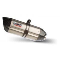 K.032.L7 - Silencer Exhaust Mivv SLIP-ON SUONO STEEL C/CAP KAWASAKI Z 800 '13>