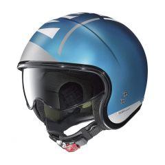 Helmet Jet Nolan N21 Avant-Garde 98 Flat Sapphire Blue