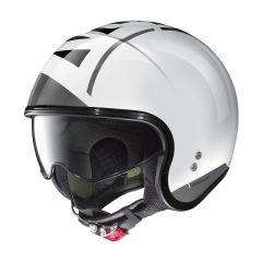Helm Jet Nolan N21 Avant-Garde 95 Metallweiß