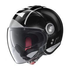 Helmet Jet Nolan N21 Visor Avant-Garde 78 Metal Black