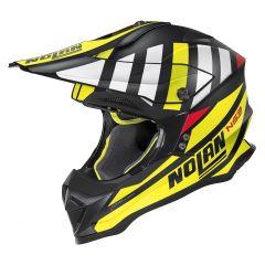 Helmet Full-Face Off-Road Nolan N53 Cliffjumper 75 Flat Black