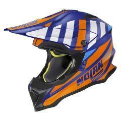 Helmet Full-Face Off-Road Nolan N53 Cliffjumper 77 Flat Imperator Blue