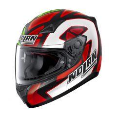 Helmet Full-Face Nolan N60.5 Gemini Replica 88 D. Petrucci Misano Matt-Black