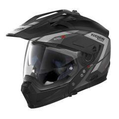 Helmet Full-Face Crossover Nolan N70.2 X Grandes Alpes 21 Flat Black
