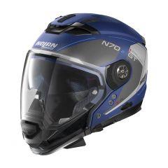 Helmet Full-Face Crossover Nolan N70.2 GT LAKOTA 40 Flat Imperator Blue