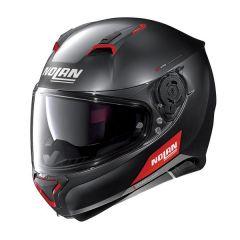 Helmet Full-Face Nolan N87 Emblema 73 Flat Black