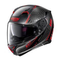 Integral helm Nolan N87 Sioux N-COM 105 Black Flat