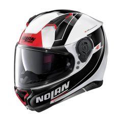 Helmet Full-Face Nolan N87 Skilled N-COM 98 Metal White