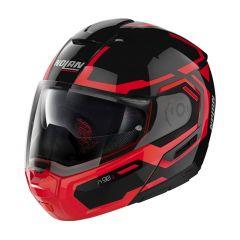 Helmet Flip-Up Full-Face Nolan N90.3 DRILLER 25 Glossy Black