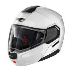 Helmet Flip-Up Full-Face Nolan N90.3 SPECIAL 15 Pure White