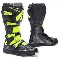 Stiefel Forma Off-Road Motocross MX Terrain Evo Schwarz Fluo Gelb