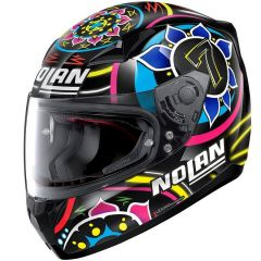 Helmet Full-Face Nolan N60.5 Gemini Replica 61 C. Davies Metal-Black