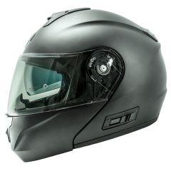 Helmet Flip-Up Full-Face Nos NS-8 Matt Grey