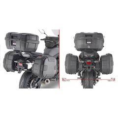 PL2148 - Givi  Seitenkoffer-Träger MONOKEY or RETRO FIT Yamaha Tracer 700 (2020)