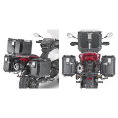 PLOR8203CAM - Givi Pannier Holder MONOKEY Trekker Outback Moto Guzzi V85 TT 2019