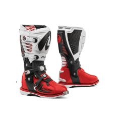 Bottes Forma Off-Road Motocross MX Predator 2.0 Noir Blanc Rouge