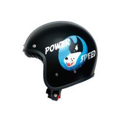 Helmet Jet Agv Legends X70 Volt Power Speed Matt Black