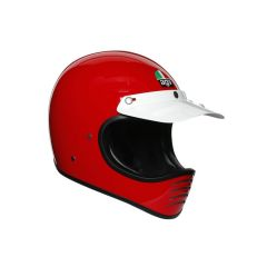 Integral Helm Off-Road Agv X101 Glänzendes Rot
