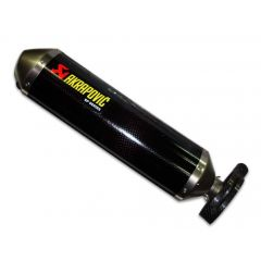 SS-Y5S1-HDC - Exhaust Akrapovic Racing Stainless S. Carbon Yamaha T-MAX 500