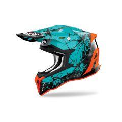 Helmet Full-Face Off-Road Airoh Strycker Crack Gloss