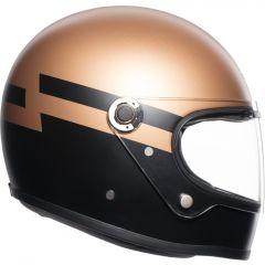 Integral Helm Agv Legends X3000 Superba Gold Schwarz