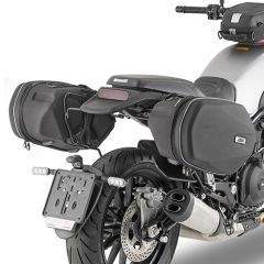 TE8704 - Givi holder for Easylock or soft side bags Benelli Leoncino 500 17>19