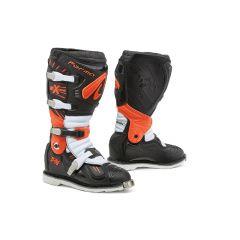 Stiefel Forma Off-Road Motocross MX Terrain TX Schwarz Orange Weiß