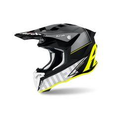 Integral helm Off-Road Airoh Twist 2.0 Gelb matt