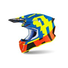 Helmet Full-Face Off-Road Airoh Twist 2.0 Frame Azure Matt