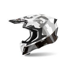 Helmet Full-Face Off-Road Airoh Twist 2.0 Frame Grey Gloss